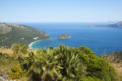 La côte de Majorque Images libres de droits