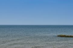 La côte de mer baltique la plage dans Zelenogradsk Image stock