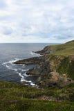 La côte rocailleuse de la péninsule de Dingle Image stock
