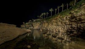 La côte rocheuse de la Sicile Images libres de droits