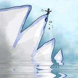 La caída libre illustration