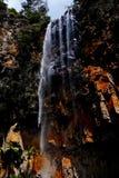 La caída del agua Imagen de archivo