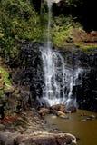 La caída del agua Foto de archivo