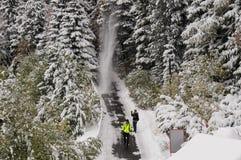 La caída Parque narodny de Tatransky Vysoke tatry foto de archivo libre de regalías