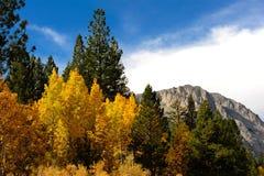 La caída viene a Sierra del este imagen de archivo libre de regalías