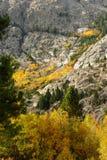La caída viene a Sierra del este fotografía de archivo libre de regalías