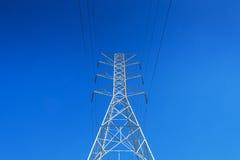 LA CA da torre de poder Imagem de Stock Royalty Free
