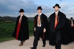 La CABALLADA Spanje van het feest Stock Fotografie