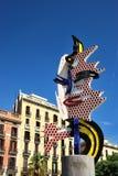 La cabeza de Barcelona Imagenes de archivo