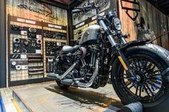 La cabina de Harley Davidson en el 37.o salón del automóvil del International de Bangkok Fotografía de archivo libre de regalías
