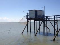 La cabina del pescador Fotografía de archivo