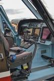 La cabina dell'elicottero Fotografie Stock Libere da Diritti