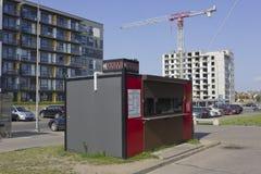 La cabina di alimenti a rapida preparazione Fotografie Stock Libere da Diritti