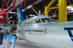La cabina di pilotaggio della fiamma blu - museo Sinsheim Fotografie Stock Libere da Diritti