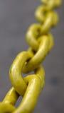 La cadena amarilla Imagen de archivo libre de regalías