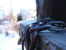 La cadena para el perro Fotografía de archivo