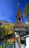 La caduta colora lo Steeple Leavenworth Washington Immagini Stock Libere da Diritti