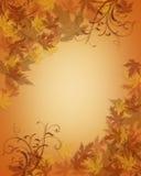 La caduta di autunno di ringraziamento lascia la priorità bassa illustrazione di stock