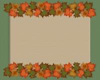 La caduta di autunno lascia la priorità bassa Fotografie Stock Libere da Diritti