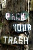 La caduta di vibrazione ricicla Immagini Stock