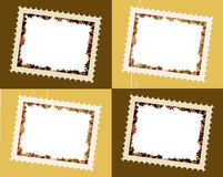La caduta lascia i blocchi per grafici della foto Immagini Stock