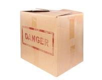 La caja de cartón grande foto de archivo libre de regalías