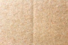 La caja de papel marrón, fondo abstracto de la cartulina imagen de archivo libre de regalías
