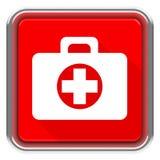 La caja de primeros auxilios Fotos de archivo libres de regalías