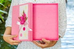 La caja de regalo Foto de archivo libre de regalías