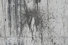 La cal mancha el muro de cemento sucio Fotos de archivo libres de regalías
