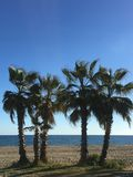 La Cala Beach, Mijas, Spain royalty free stock photos