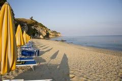 La Calabria è situata in Italia sudoccidentale fotografie stock libere da diritti