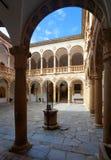 La Calahorra royaltyfria bilder