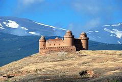 La Calahorra Castle. Royalty Free Stock Image