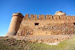 La Calahorra Castle, Andalusia, Spain Stock Images