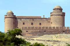 La Calahorra Castle Spain Stock Photos