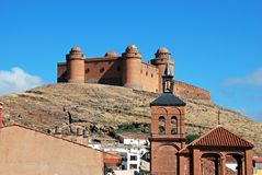 La Calahorra castle. Stock Image