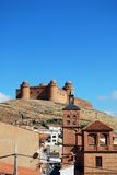 La Calahorra castle. Stock Photography
