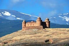 La Calahorra castle. Royalty Free Stock Image