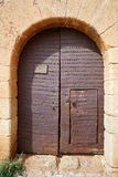 La Calahorra Door Stock Images
