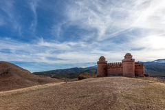 La Calahorra Fortress Stock Photo