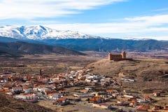 La Calahorra fortress Royalty Free Stock Photography