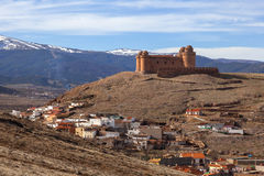 La Calahorra fortress Royalty Free Stock Images