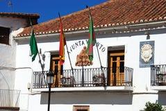La Calahorra town hall. Stock Image