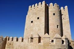 Calahorra Toren in Cordoba, Spanje Stock Foto's