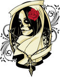 La Calavera Catrina. Celebrating the day of the dead with La Calavera Catrina Royalty Free Stock Photography
