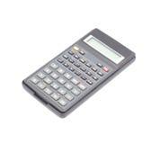 La calculadora científica fotografía de archivo