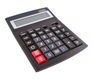 La calculadora del asunto fotografía de archivo