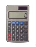 La calculadora pequeña Imagen de archivo