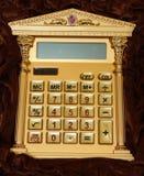 La calculatrice photographie stock libre de droits